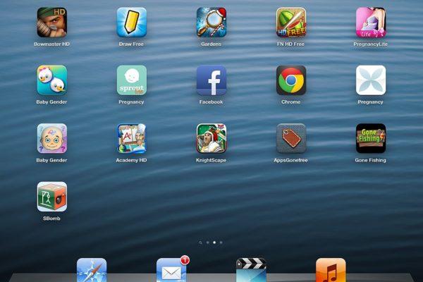 ipad mini how to delete apps