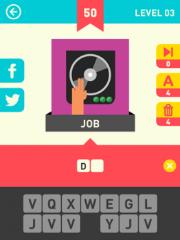 Icon Pop Word Answers 50