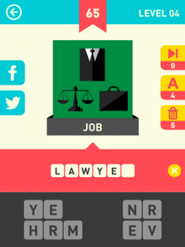 Icon Pop Word Answers 65