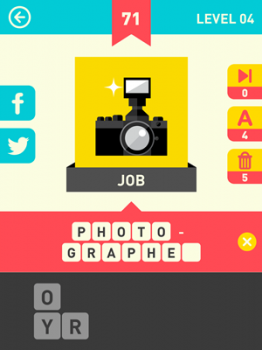 Icon Pop Word Answers 71