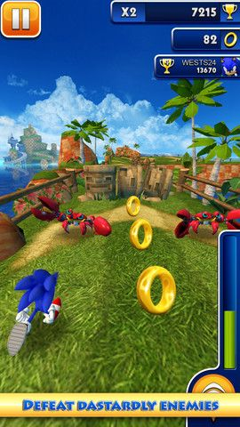 sonic dash review 1