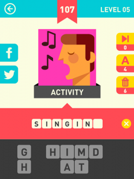 Icon Pop Word Answers 107