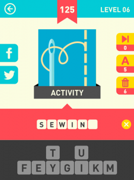 Icon Pop Word Answers 125