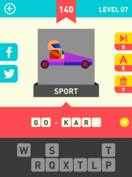 Icon Pop Word Answers 140