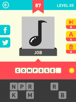 Icon Pop Word Answers 87