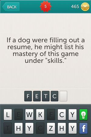Little Riddles Answer 06. Riddle: If a dog were filling out a resume ...
