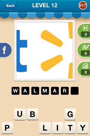 Hi Guess The Brand Answers Level 12 - 317
