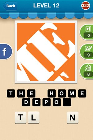 Hi Guess The Brand Answers Level 12 - 322