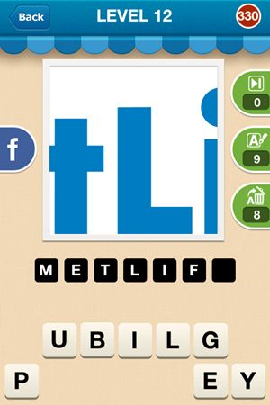 Hi Guess The Brand Answers Level 12 - 330