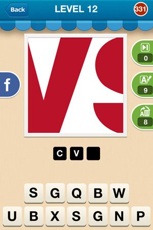 Hi Guess The Brand Answers Level 12 - 331