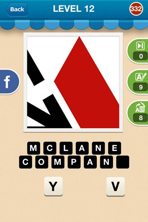 Hi Guess The Brand Answers Level 12 - 332
