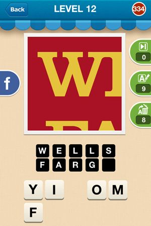 Hi Guess The Brand Answers Level 12 - 334