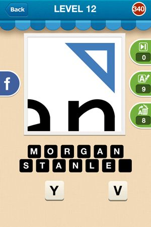 Hi Guess The Brand Answers Level 12 - 340
