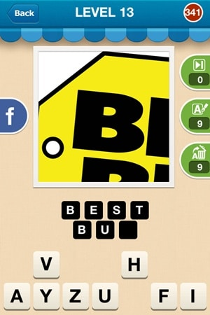 Hi Guess The Brand Answers Level 13 - 341