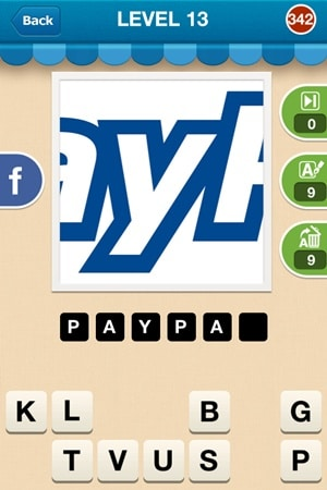 Hi Guess The Brand Answers Level 13 - 342