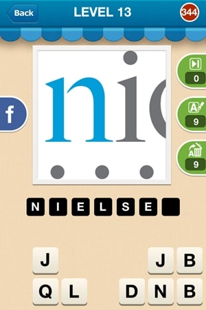 Hi Guess The Brand Answers Level 13 - 344