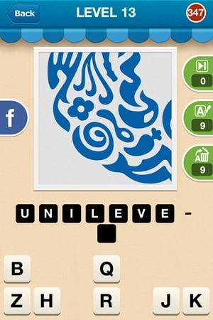 Hi Guess The Brand Answers Level 13 - 347