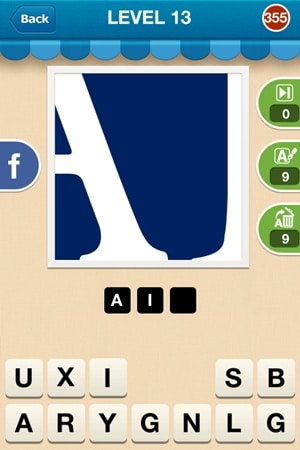 Hi Guess The Brand Answers Level 13 - 355