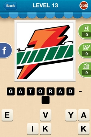 Hi Guess The Brand Answers Level 13 - 356