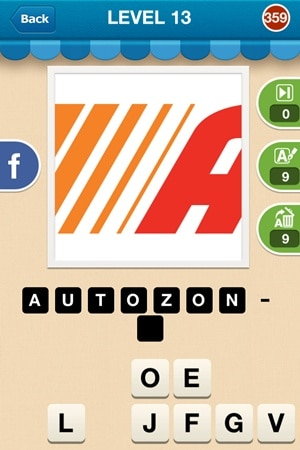 Hi Guess The Brand Answers Level 13 - 359