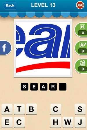 Hi Guess The Brand Answers Level 13 - 366