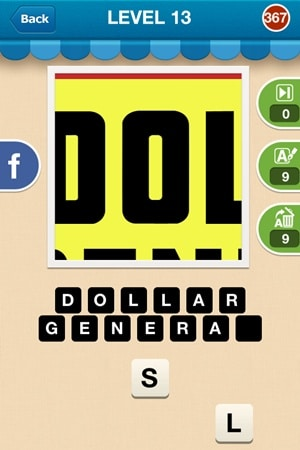 Hi Guess The Brand Answers Level 13 - 367