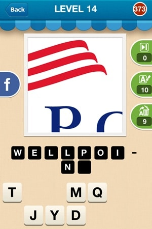 Hi Guess The Brand Answers Level 14 - 373