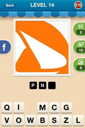 Hi Guess The Brand Answers Level 14 - 376