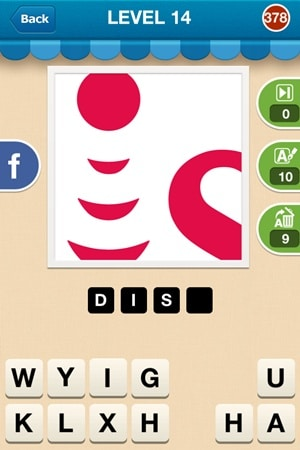 Hi Guess The Brand Answers Level 14 - 378