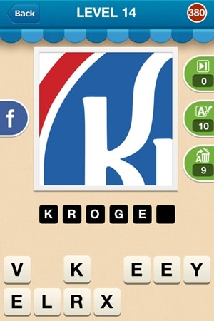 Hi Guess The Brand Answers Level 14 - 380