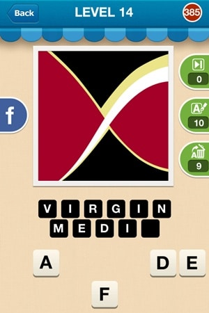 Hi Guess The Brand Answers Level 14 - 385