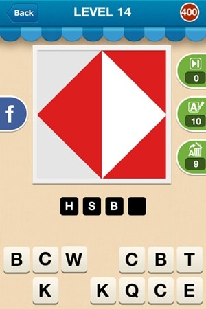 Hi Guess The Brand Answers Level 14 - 400