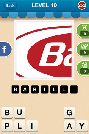 Hi Guess The Brand Level 10 Answer 253