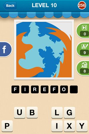 Hi Guess The Brand Level 10 Answer 256