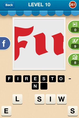 Hi Guess The Brand Level 10 Answer 261