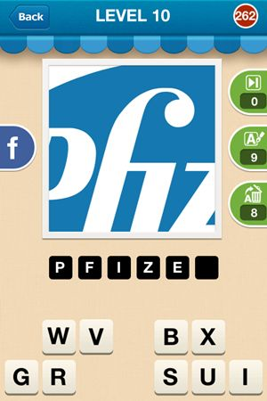 Hi Guess The Brand Level 10 Answer 262