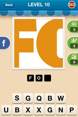 Hi Guess The Brand Level 10 Answer 263
