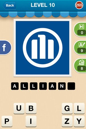 Hi Guess The Brand Level 10 Answer 265