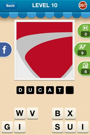 Hi Guess The Brand Level 10 Answer 267