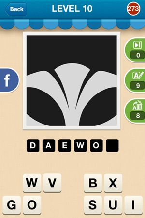 Hi Guess The Brand Level 10 Answer 273