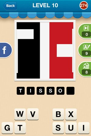 Hi Guess The Brand Level 10 Answer 274