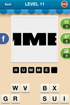 Hi Guess The Brand Level 11 Answer 285