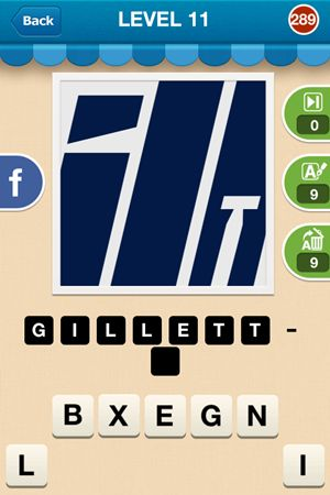 Hi Guess The Brand Level 11 Answer 289