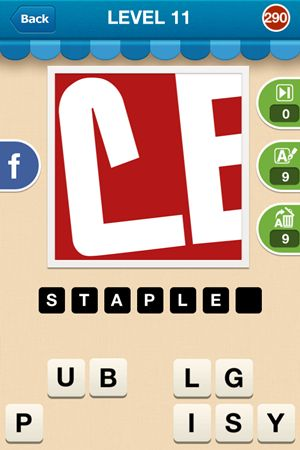 Hi Guess The Brand Level 11 Answer 290