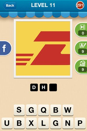 Hi Guess The Brand Level 11 Answer 291