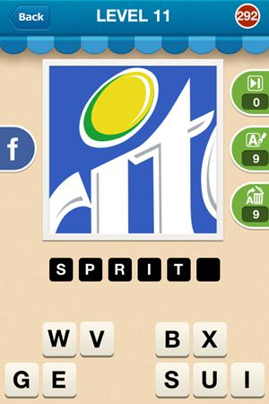 Hi Guess The Brand Level 11 Answer 292