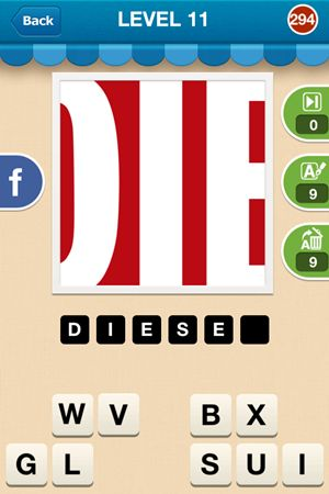 Hi Guess The Brand Level 11 Answer 294