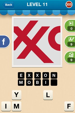 Hi Guess The Brand Level 11 Answer 305