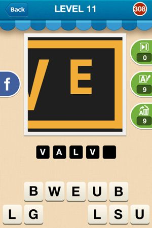 Hi Guess The Brand Level 11 Answer 308