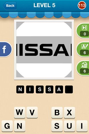 Hi Guess The Brand Level 5 Answer 113
